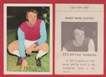 West Ham United Bryan Pop Robson